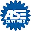 ASE certification logo